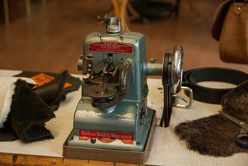 Sewing Machine, Leather, Crafts, Skin