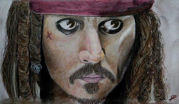 Pirates Of The Caribbean, Jack Sparrow, Johnny Depp