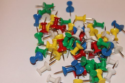 Tacks, Wall Needle, Office, Needles, Pointed, Pieksen