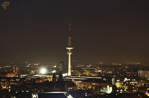 Hamburg, Tv Tower, Fair, Radio Tower, Architecture