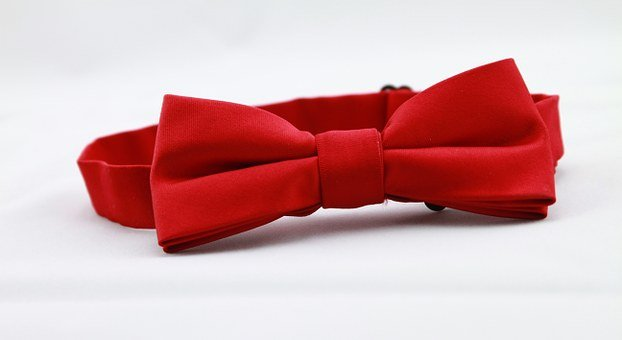 Red Bow Tie, Tie, Men's Clothing, Red, Bow Tie, Bow