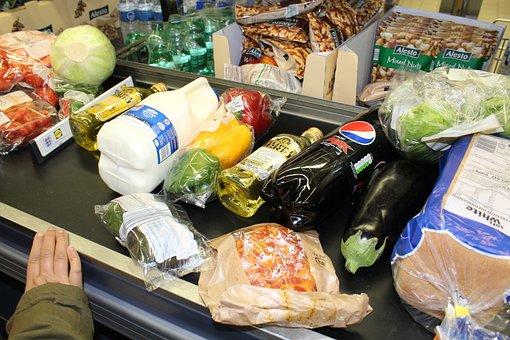 Grocery, Shopping, Food, Retail, Supermarket, Women