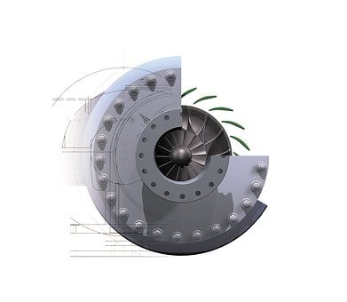 Rotor Blade, Compressor, Blower, Drive Technology