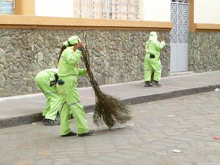 Cuenca, Ecuador, Travel, Scenery, Street Sweepers