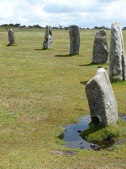 Bodmin Moor, Stone Circles, Cornwall