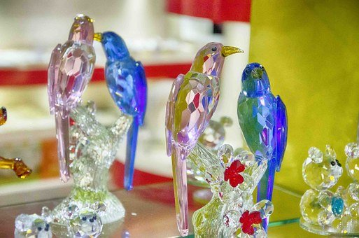 Swarovski, Glas, Crystal, Home Decor, Home Interiors