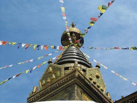 Tibet, Temple, Tibetan, Buddhism, Temple Complex