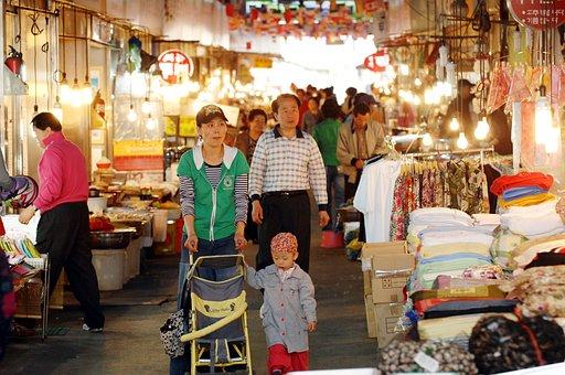 Hanam City, Renal Market, Traditional Market