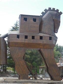 Trojan Horse, Trojan, Troy, Wooden Horse, Homer, Horse