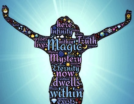 Woman, Magic, Mystery, Truth, Here, Now, Within
