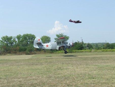 Aircraft, An 2, Take-off, Airport, Miskolc Hungary