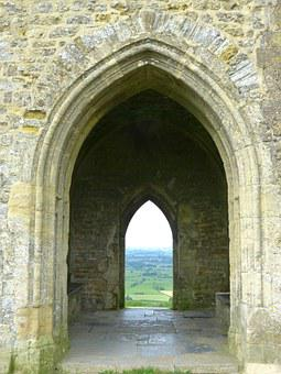 Glastonbury Tor, England, United Kingdom, Tower