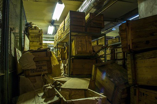 Bunker, The Abandoned, Boxes, Gas Masks, Digging, Gp-4