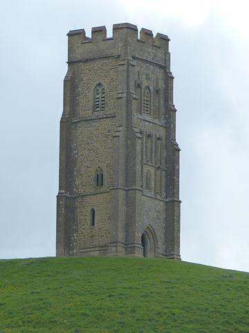 Glastonbury Tor, England, United Kingdom, Tower