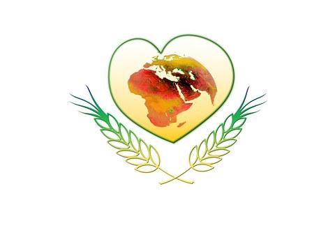 Heart, Abstract, Love, Globe, Cereals, Branch, Bio