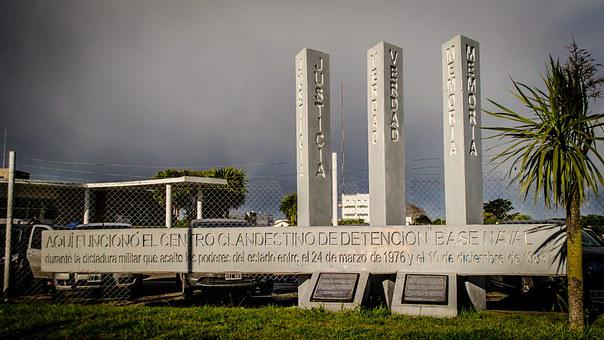 Memorial, Mar Del Plata, Argentina, Missing