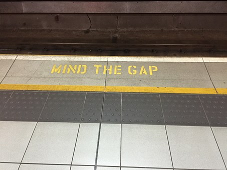 Mind The Gap, Underground, London, Train, Subway, Mind