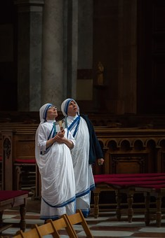 The Nun, Nuns, Temple, Prayer, Basilica, Esztergom