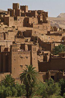 Ait Ben Haddou, Desert City, Oasis, Oasis Town