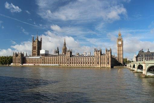 London, Parliament, River Thames, Westmister, Big Ben