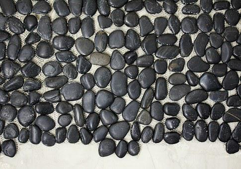 Pebbles, Pebble Mat, Decorative Stones Wall For The