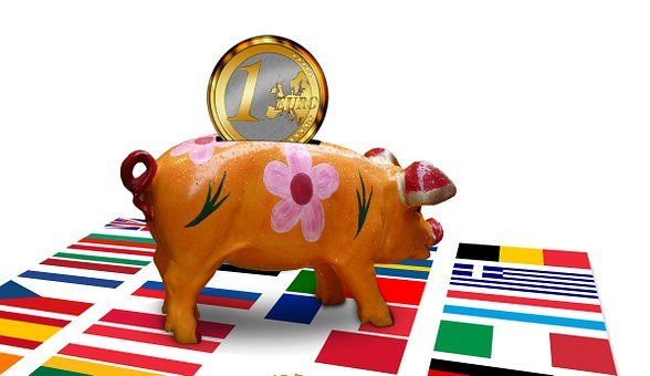Piggy Bank, Pig, Save, Symbol, Currency, Economy