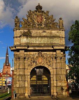 Poland, Stettin, Berliner Tor