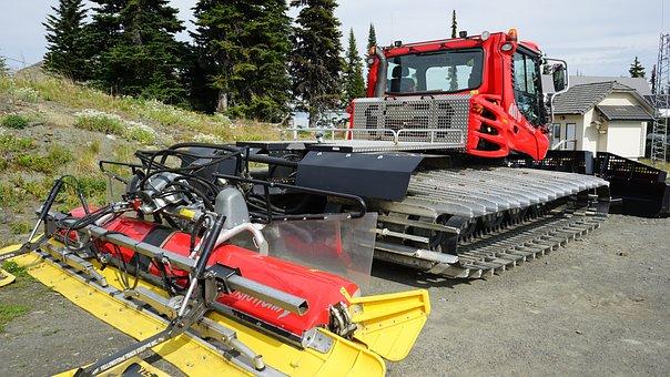 Snowplough, Ski Slope, Seat Lift