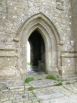 Tor, Gate, Church, Glastonbury, St Michael's Tower