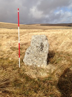 Dartmoor, Stone, Monolith, Landscape, Uk, Granite