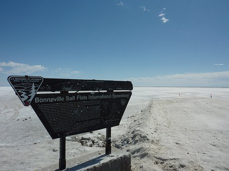 Tom, Bonneville Flat, Race Track, Salt Flats, Salt Lake