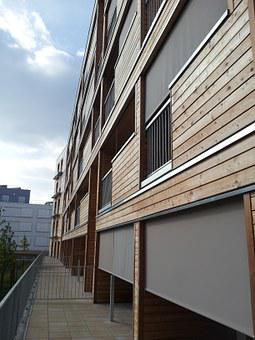 Architecture, Building, Bbc, Cladding Wood