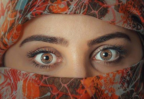 Beauty, Eye, Fashion, Model, Nora, Portrait, Female