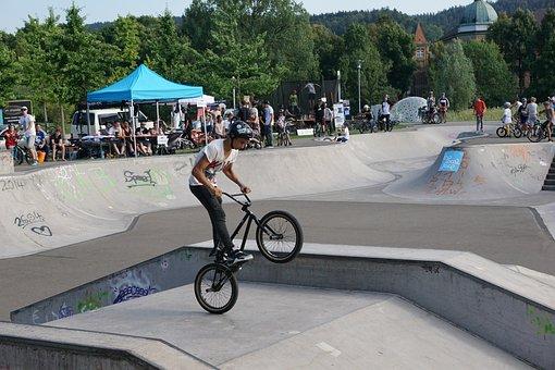 Bmx, Bike, Drive, Jump, Fun, Joy, Extremely, Boy