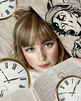 Alice In Wonderland, Girl, Book, Tale, Vintage, Fantasy