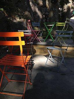 Cafe, Chairs, Got, The Archipelago, Grinda, Summer