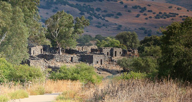 Deserted Ruins, Village, Ghost Town, Yahudia