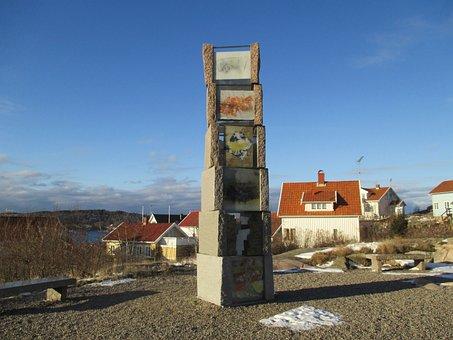 Sculpur, Pål Arne, Monument, Fjällbacka