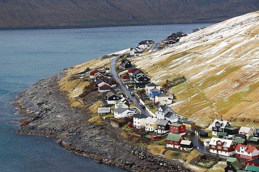 Foroyar, Faroe Islands, Island, Colorful Houses
