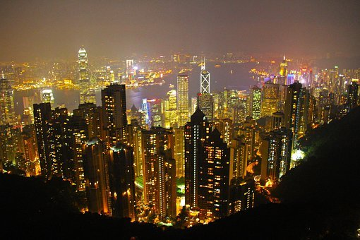 The Peak, Hong Kong, Scenic, Romantic, Kowloon City
