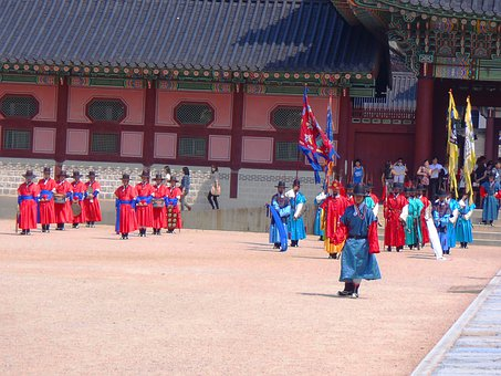 Korea, Monument, Seoul, King, The Tradition Of, People