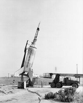 Little Joe, Rocket, Launcher, Launch Pad, Nasa