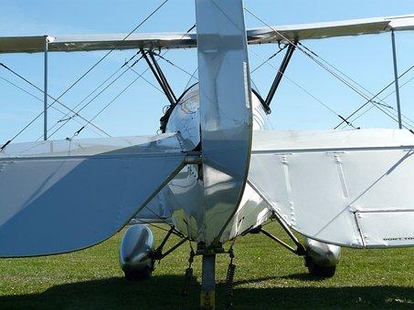 M17, Aircraft, Aerobatics, Propeller, Silver, Shiny