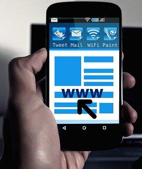 Server, Search, Smartphone, Mobile Phone, App, Icon