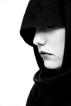 Mouth, Face, Portrait, Ms, Girl, Veiled