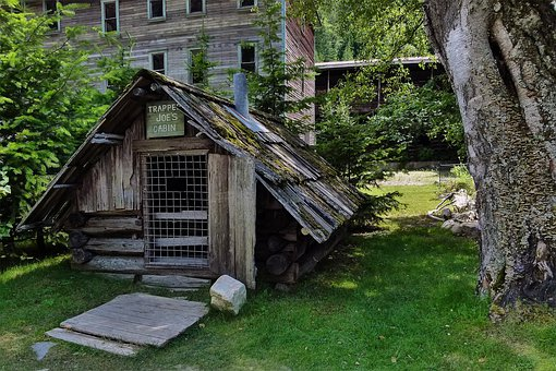 Heritage, Hut, Old, Building, Trapper Joe, Ghost Town