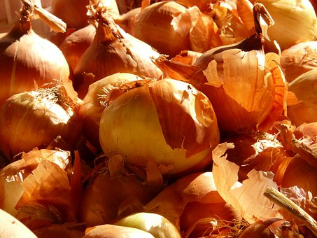 Onion, Vegetables, Food, Market, Allium Cepa, Onions