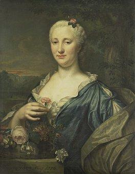 Agnes Margaretha Albinus, Painting, Portrait, Female