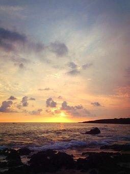Pak Sha Wan, Sunset, The Sea, Beach