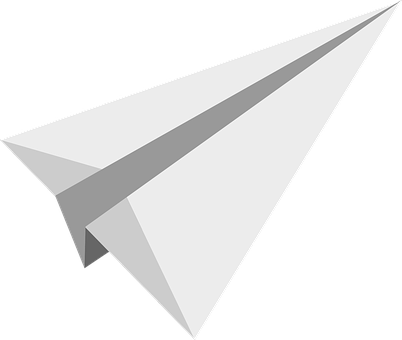 Paper Planes, Flying, Send, Aircraft, White, Flat
